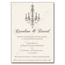vintage chandelier vintage wedding day invitation