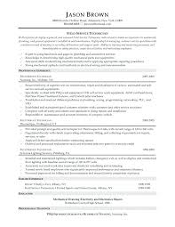 Sample Computer Technician Resume Computer Technician Resume Sample