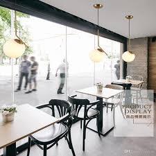 Großhandel Nordic Postmodernen Glaskugel Kronleuchter Einfaches Schlafzimmer Wohnzimmer Esszimmer Nachtbar Kreative Persönlichkeit Speichern