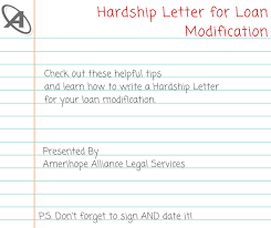 mortgage modification hardship letter hardship letter tips for a successful loan modification