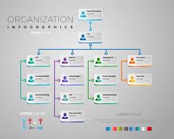 Organization Chart Vector Elegant Organization Chart Vector Premium Download