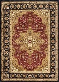 grand red beige black area rug reviews astoria rugs wayfair