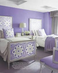 Lilac Bedroom Lilac Bedroom Featuring Galbraith Paul Seville Medallion