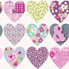 Pink And Purple Wallpaper For A Bedroom Heart Themed Wallpaper Girls Bedroom Pink Various Designs