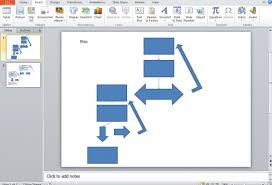 How To Create A Flowchart Using Smartart In Powerpoint 2010