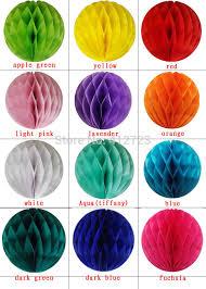 How To Make Tissue Paper Balls Decorations 1000inch1000cm100pcslot Honeycomb Ball tissue Paper Lanterns Wedding 57