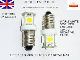 5 Light Bulb Lamp Details About 2 X E10 987 Smd 5050 5 Led Mes Screw Light