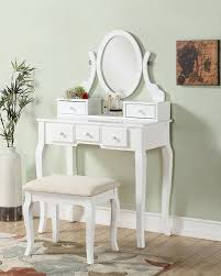 Teen makeup table with storage