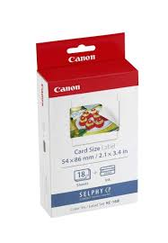 Our credit cards are not only convenient and secure; Canon Kc 18if Ink Paper Set 18 X Credit Card Size Lables For The Selphy Cp Series Buy Online In Bahamas At Bahamas Desertcart Com Productid 48169621