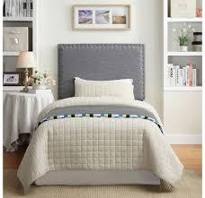 Leon Bedroom Furniture Whi Leon Twin Headboard Grey 151 893t Gy Modern Furniture Canada