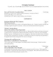 Example Of Bartender Resume Example Of Bartender Resume Resume For