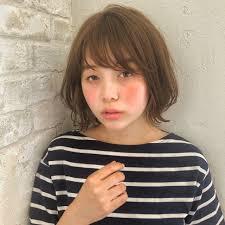 ナチュラル 前髪あり ボブ 小顔joemi By Unami 新宿内田航 柔らか