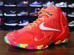 lebron shoes fruity pebbles. famous shoes lebron gs fruity pebbles laser crimson total 621712-600 orange white cheap