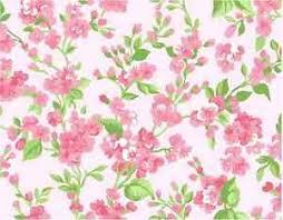 vintage flower sheets vintage flower print pink buds cake topper edible wafer paper full