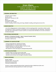 College Student Resume Templates Microsoft Word Resume Sample format Awesome Student Resume Template Microsoft 59