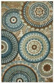 teal brown rug contemporary forest suzani area with regard to and rugs plans 5
