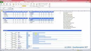 World Cup 2014 Scoresheet With Top Scorer Feature