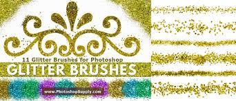 Confetti Brush Photoshop Styles Free Golden Glitter Photoshop Overlay Houriya Media