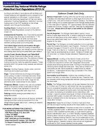 humboldt bay national wildlife refuge we ve moved to hunting brochure