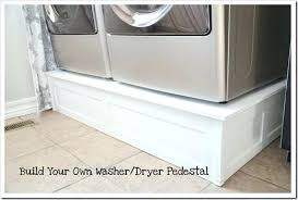diy washer dryer pedestal with drawers. Interesting Pedestal Pedestals For Washer And Dryer Pedestal 1 Cover Lg Drawer Removal Intended Diy Washer Dryer Pedestal With Drawers A