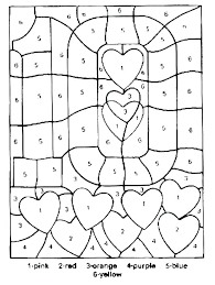 Color By Number Coloring Pages Zupa Miljevcicom