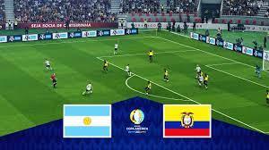 ARGENTINA vs ECUADOR - Copa America 2021 (1/4 Final) Full Match & All Goals    Football Live PES 2021 - YouTube