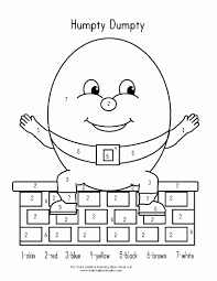 reliable humpty dumpty coloring page pages free