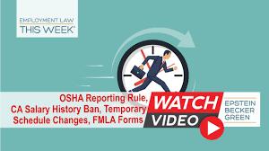 Osha Law Update Occupational Safety Health Lawyers