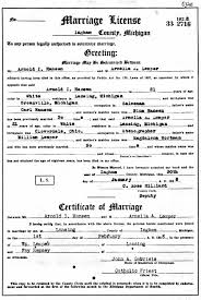 genealogy data page 50 (notes pages) Wedding License Genesee County Mi marriage record, ingham county, mi marriage license genesee county mi