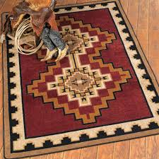 Western Kitchen Southwest Rugs Council Fire Southwestern Rug Collection Lone Star