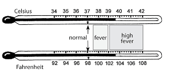Fever Temperature Chart For Adults Google Search Fever