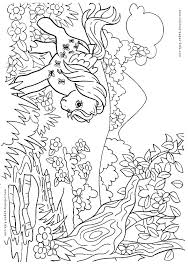 My Little Pony Color Page Cartoon Characters Coloring Pages Color