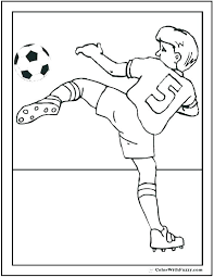 Who Coloring Pages Who Coloring Pages Soccer Player Coloring Pages