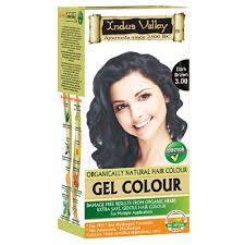 indus valley 90 organic hair dye colour kit