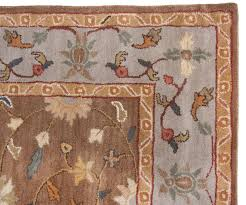 traditional wool area rugs beautiful brown blue handmade rug heritage distressed persian faux oriental red living room plush for s leather