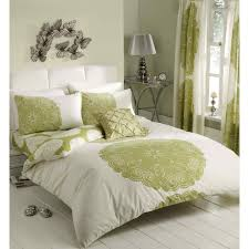 manhattan cream green quilt cover
