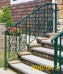 metal handrails for deck stairs. aluminum_step_railing(#pr-23) metal handrails for deck stairs