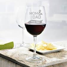 personalised set of 2 wine glasses 2903 images