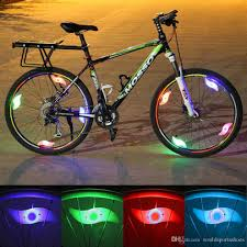 Ems Bicycle Lights 2019 Bicycle Bike Light Led Wheel Tire Bright Spoke Lamp Cycling Light Led Front Tail Flash Bycicle Accessories Safety 593063 From Worldsportsshoes