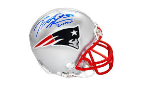 nfl autographed mini helmets and display cases