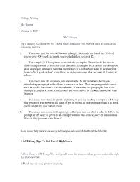 examples of sat essays inspiring writing sample resumes   examples of sat essays 16