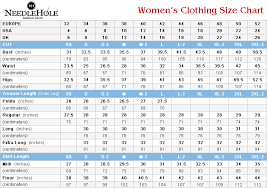 Women S Size Chart Clothing Size Chart For Women And Men Salwar Kameez And Bridals