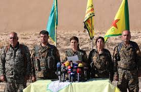 Image result for Syrian Democratic Forces (SDF) LOGO