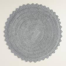 quality circle bathroom rugs small