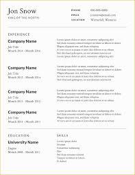 Free Printable Professional Resume Templates Of 2 Free Resume