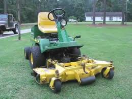 john deere f725 front mower