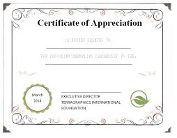 free templates for certificates of appreciation leadership certificate of appreciation template certificate of