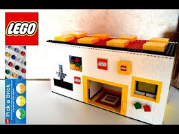 How To Make Ruffles Mcdonald's And Pepsi Vending Machine Classy Lego Pick A Brick Vending Machine Lego Store YouTube