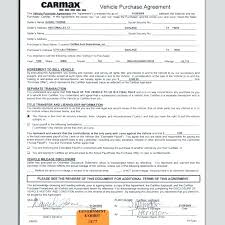 Used Car Sale Agreement Contract Form Free Sold As Is Receipt ...