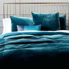 velvet comforter set king size duvet cover shams